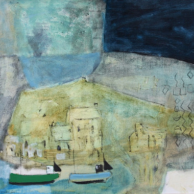 Padraig Macmiadhachain - Two Fishing Boats from Hayle
