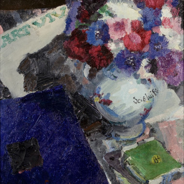 Mildred Bendall - Still life (with Book), c 1925