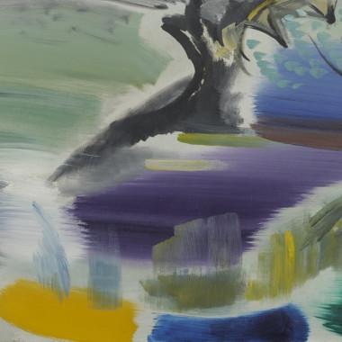 Ivon Hitchens - Shaded Summer Water, 1965