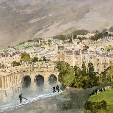 Eve Kirk - Pulteney Bridge, Bath, c 1930s