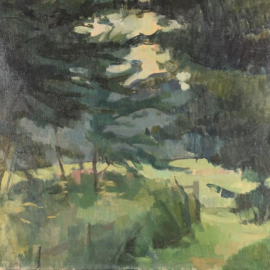 Lawrence Gowing - Path by the Elm Plantation, 1954