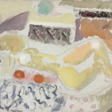 Ivon Hitchens - Juno Reclining, 1934