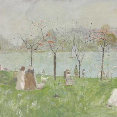 Mary Potter - The Lake, Regent's Park, c 1948-50