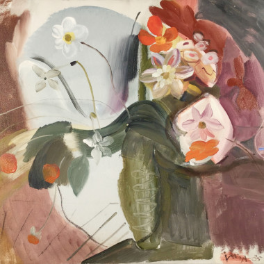 Ivon Hitchens - Hampstead Flowers, 1934-5