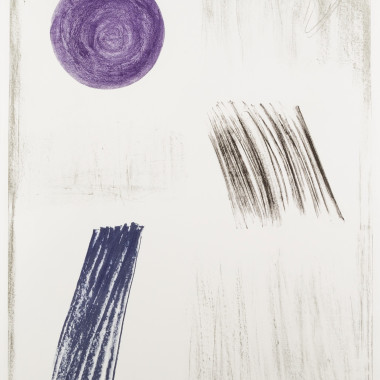 Barbara Hepworth - Autumn Shadow, from Twelve Lithographs, 1968-69