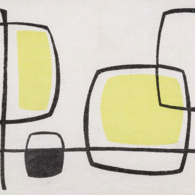 Michael Snow - Abstract (Yellow), from Porthia, c 1955