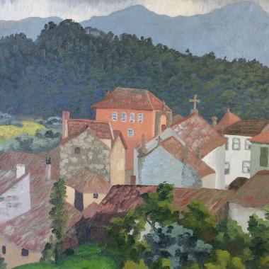Cedric Morris - Abrunhosa, Portugal, 1957