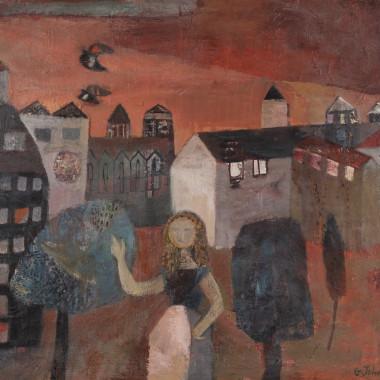 Gwyneth Johnstone - Market Stall