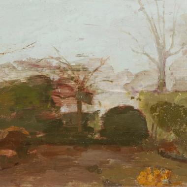 Margaret Green - Foggy Garden