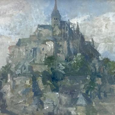 Peter Greenham - Mont St. Michel I, c 1960s