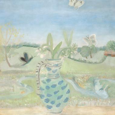 Winifred Nicholson - Meadow Comfrey, c 1948
