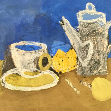Keith Vaughan - Still Life with Coffee Pot, 1950