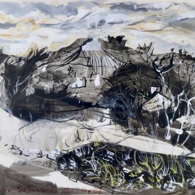 John Piper - Penuwch, near Bethania (Ceredigion), 1954