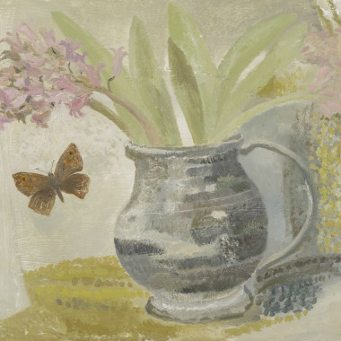 Jo Aylward - Pewter Goblet and Meadow Brown