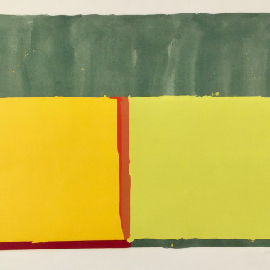 John Hoyland - Yellows, 1969