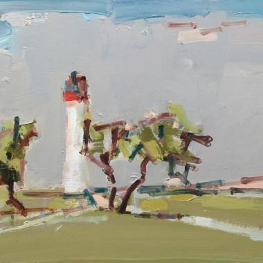 Stephen Palmer - Lighthouse II, St-Martin-de-Ré, 2018