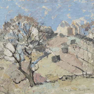 Anne Redpath - Hillside Farm, c1944