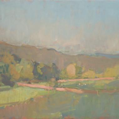 Martin Yeoman - Landscape in Dartmoor, 2012