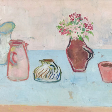 Stella Steyn - Still life with Jugs, c 1950s
