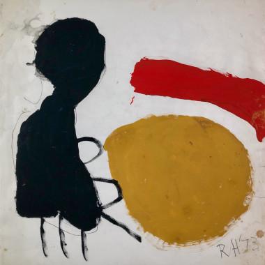 Roger Hilton - Figure, 1973