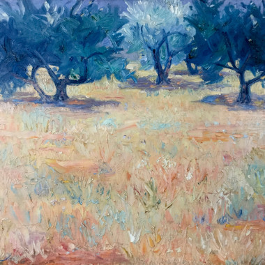 Frederick Gore - Olive Trees, Provence