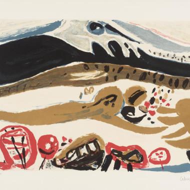 Pierre Celice - Paysage blanc, 1968-9