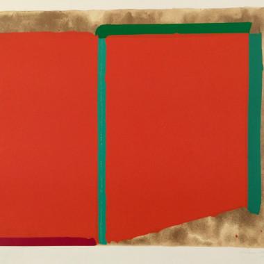 John Hoyland - Reds, Greens, 1969
