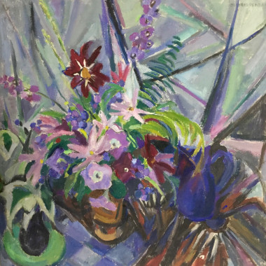 Mildred Bendall - Untitled (Floral Piece), c 1959