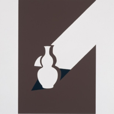 Patrick Caulfield - Arita Flask (from White Ware Prints), 1990