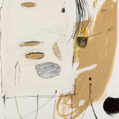 Douglas Swan - Untitled (Ochre), 1963