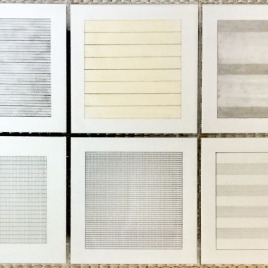 Agnes Martin - Paintings and Drawings 1974-1990 (Stedelijk), 1991