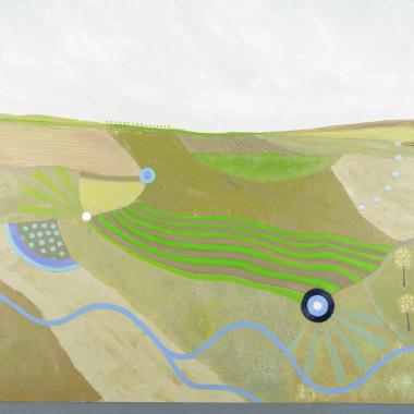 Tim Woolcock - A Wiltshire Stream, 2020