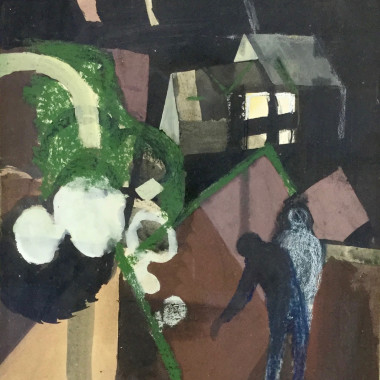 Keith Vaughan - Two Figures in a Landscape