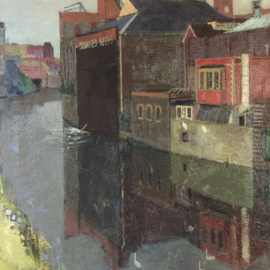 Denis William Reed - Riverside, Bristol, c 1960