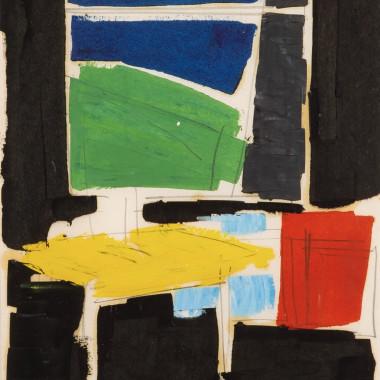 Peter Kinley - Interior with WIndow, c 1960