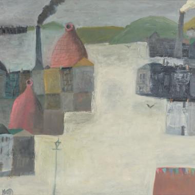 Nicholas Turner - Bottle Kilns, 2020