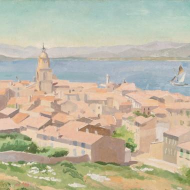 Stephen Bone - St Tropez, 1931