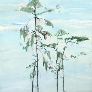 Ffiona Lewis - River Pine, 2014