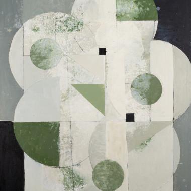Daisy Cook - Abstract Tree Green II