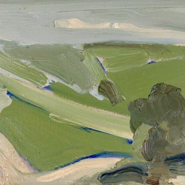 Lindy Guinness - Umbria Landscape, 2017