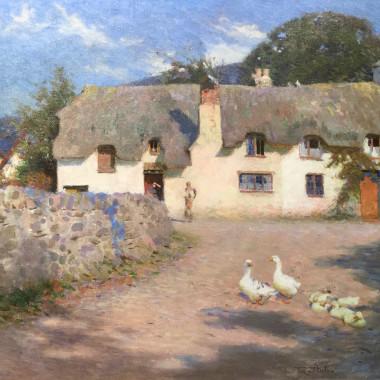Fred Hall - Sunny Morn, Bossington
