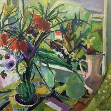 Mildred Bendall - Still Life (Homage to Monet)