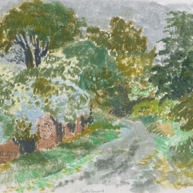 Mary Armour - Castle Toward (Argyll and Bute), 1972