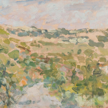 Diana Armfield - Vineyard, South of France