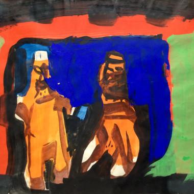 Peter Lanyon - Bakehouse, Mexico, 1963