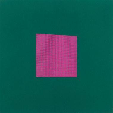 Tess Jaray - After Malevich P7, 2012