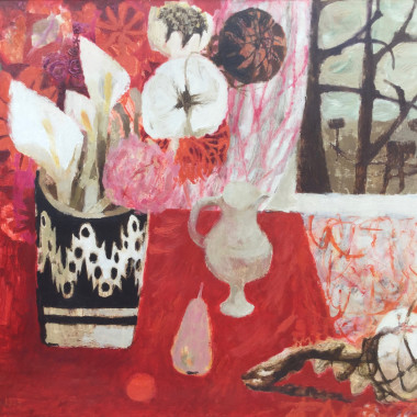 Mary Fedden - Still life with Lillies, 1959