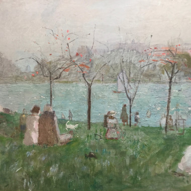 Mary Potter - The Lake, Regent's Park, c 1948-50