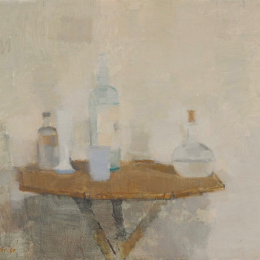 William Brooker - Objects on a Bamboo Table
