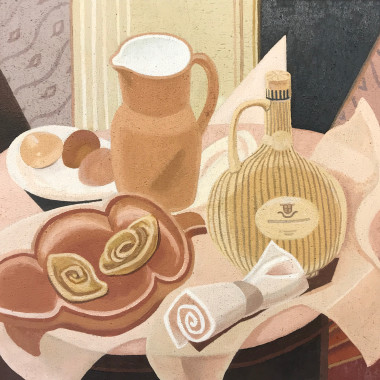 Doris Hatt - Still Life, Cafe au Lait, 1957